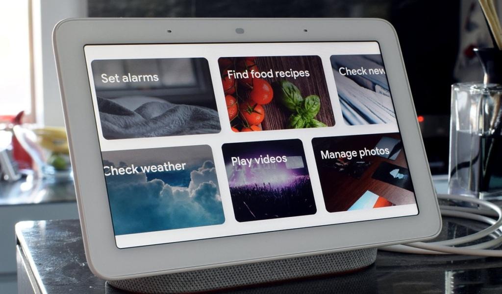 Быстрый доступ к командам Google Home Hub