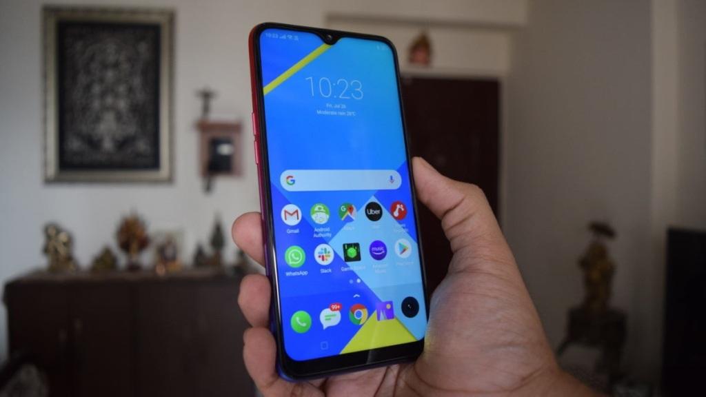 Дисплей смартфона средний